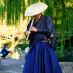 Musicien samouraï à Kyoto